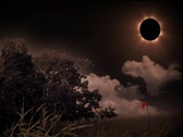 Stock Video Footage of Solar Eclipse Landscape