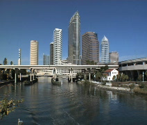 Tampa Sunshine Stock Footage