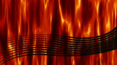 Red Hot Music background Stock Footage