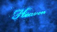 Heaven 01 (HD) Stock Footage