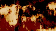 Burning grunge Stock Footage