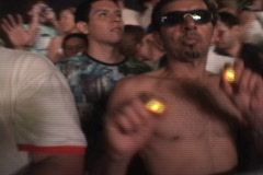 Crowd Closeup - stock footage