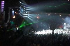 Huge Concert - stock footage