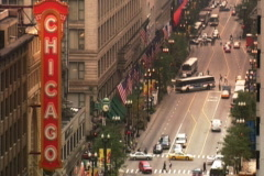 Chicago Sign - stock footage