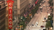 Chicago Sign Stock Footage