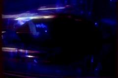 Siren-BLUE-90loop Stock Footage