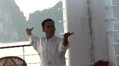 Tai Chi instructor Stock Footage