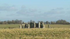 Stonehenge 1, HD - stock footage