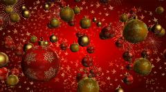 Christmas ball 01 Stock Footage