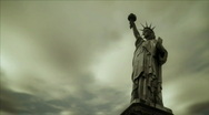Freedom Welcomes All HD720 Stock Footage