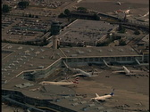 Aerial of Vancouver Airport Stock Footage