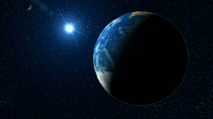 Travel to Earth, HD 720 - stock footage