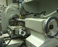 CNC milling machines  Stock Footage