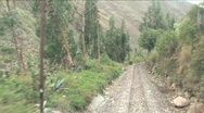 Stock Video Footage of Train to Cuzco, Machu Picchu, Peru
