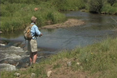 Flyfishing 1 Stock Footage