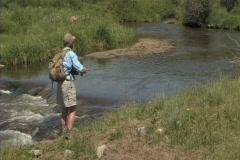 Flyfishing 1 - stock footage