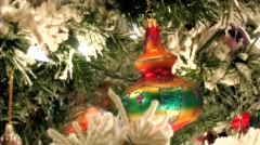 A Christmas Ornament Stock Footage