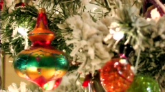 The Christmas Ornament and the Turtle Stock Footage