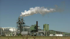 Biofuel factory Stock Footage