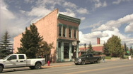 Stock Video Footage of Leadville  Colorado Building