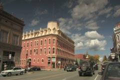 Leadville  Colorado Street Pan Stock Footage