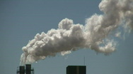 Factory Smoke stack Stock Footage