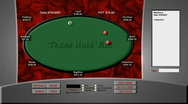 Stock Video Footage of Simulated Online Poker Game