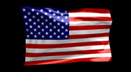 Flag of United States 06 (HD) Stock Footage