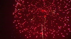 Real Fireworks Celebration Stock Footage