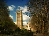 Westminster London (PAL) Stock Footage