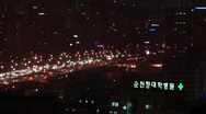Stock Video Footage of Time lapse. Traffic. Seoul