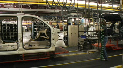 Car Plant 30 Stock Footage