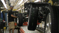 Car Plant 6 Stock Footage