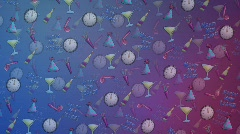New Year Confetti Final 2 Stock Footage