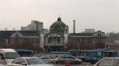 Seoul train station Stock Footage
