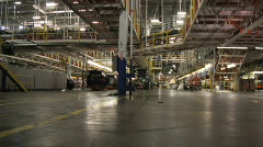 Car Plant 16 Stock Footage