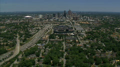 Atlanta Aerials Stock Footage