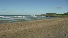 Fistral beach newquay Stock Footage