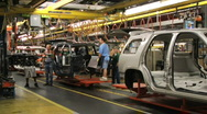Stock Video Footage of Car Plant 19