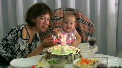 Happy birthday 6 Stock Footage