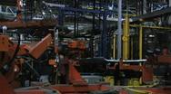 Car Plant 36 Stock Footage