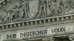 Reichstag building Stock Footage