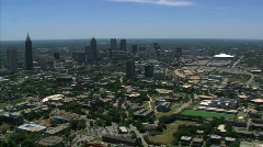 Austin Texas Aerials - stock footage