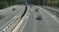Stock Video Footage of Multilane motorway time lapse