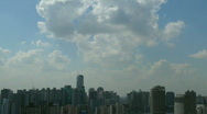 Stock Video Footage of shanghai changning area timelapse