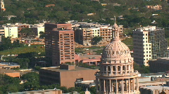 Austin Texas  Aerials - stock footage