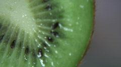 Extreme macro - Kiwi Fruit - 1 Stock Footage