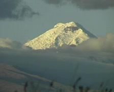 Cotopaxi Volcano in the Ecuadorian Andes Stock Footage