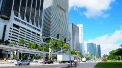 Downtown Miami Stock Footage