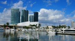 Bayside Marina - stock footage